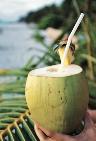 Tropisch welkomstdrankje