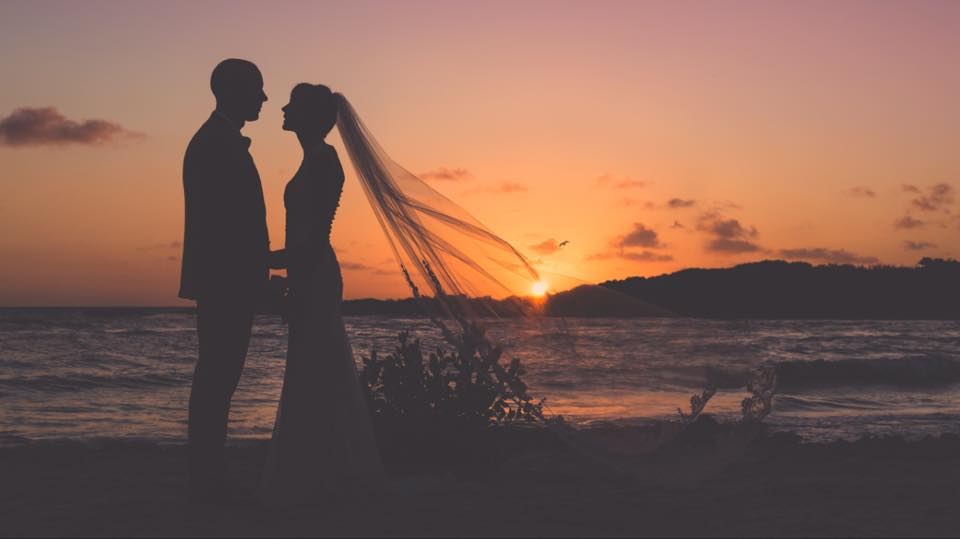 Wendy & Kristof sunset